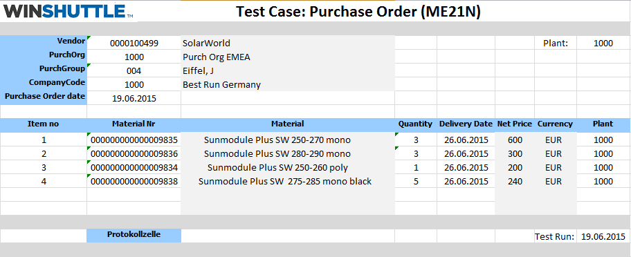 Automatisierte SAP Tests mit Winshuttle - Winshuttle Germany
